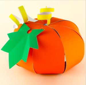 Halloween - origami pumpkin