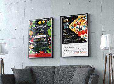 School Event Posters