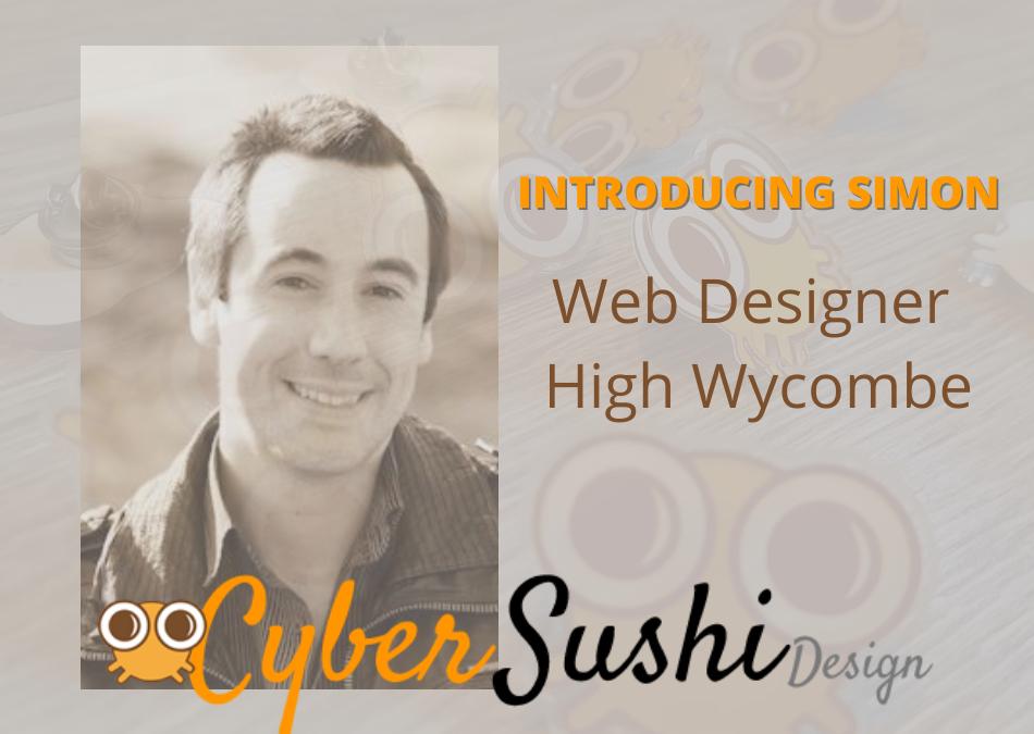 Introducing Simon - web designer high wycombe