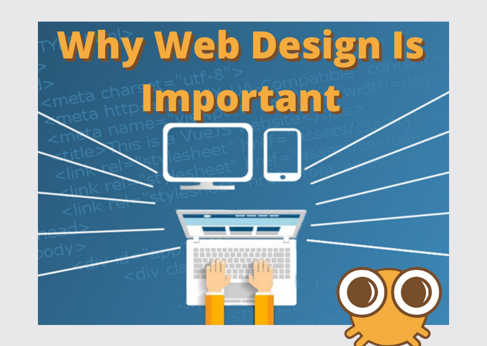 Why web design is important by Cyber Sushi Design